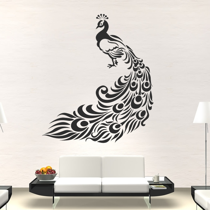 Wall Decor Bird Design : Wall paintings psd vector eps jpg download