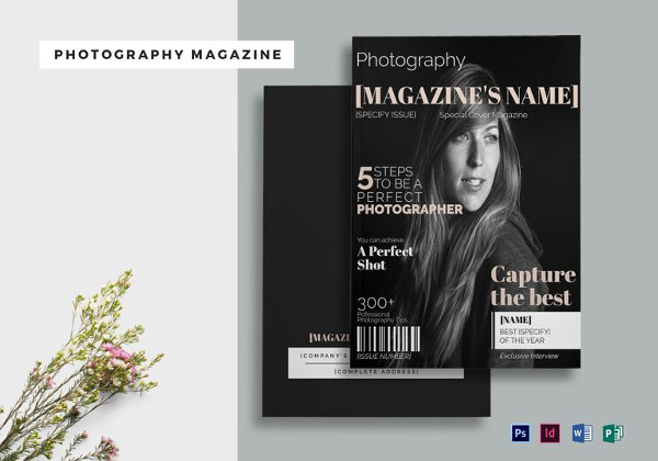 Photography Magazine Template
