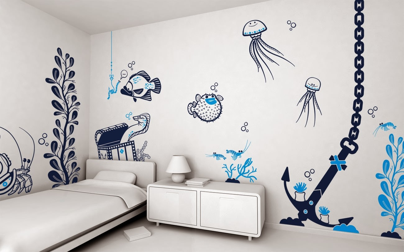 wall paintings designs