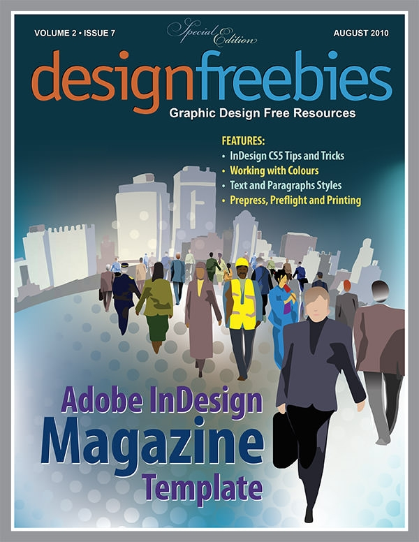 25 best magazine design templates in pdf freecreatives for Adobe indesign magazine templates free download