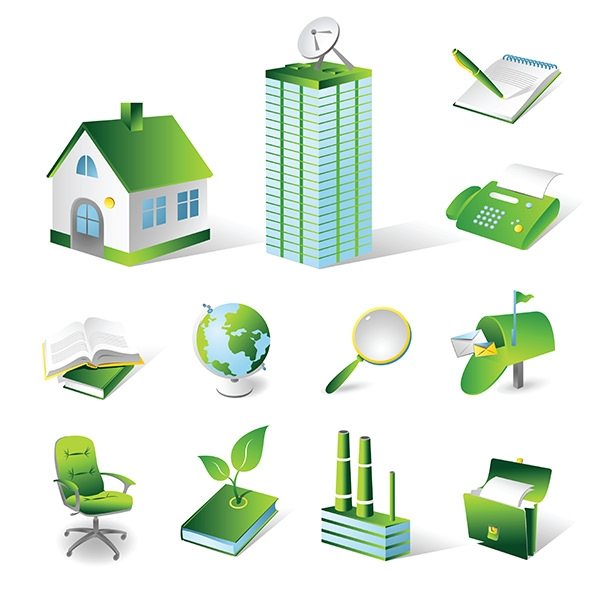 free-vector-house-real-estate-theme-icon-vector