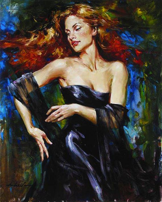 hand painting of women