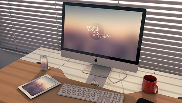 imac-Workspace-Template