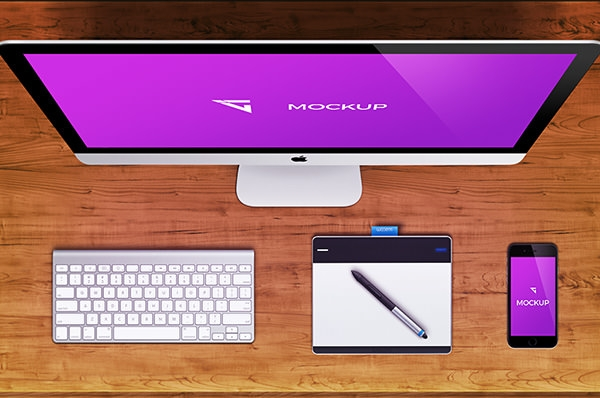 imac-mockup-for-free on table