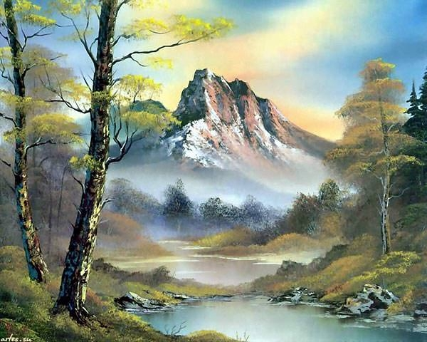 landscape-mountain-painting