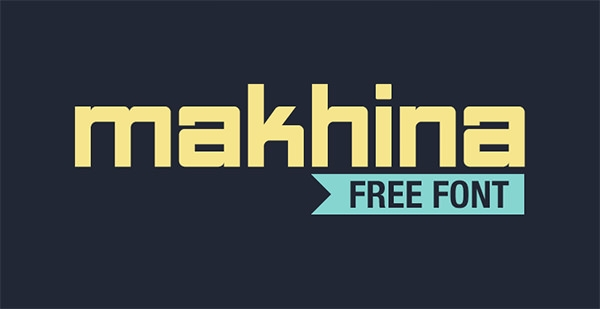 makhina-free-font
