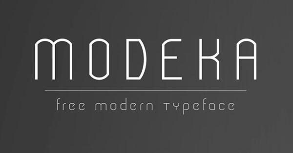 modeka-font