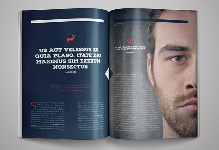 25 best magazine design templates in pdf