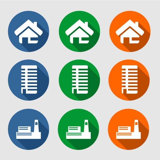 set-of-houses-icons
