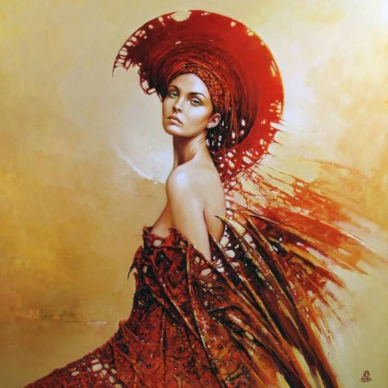 Woman paintings best pics 40