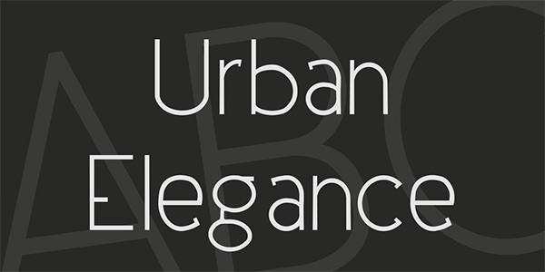urban-elegance-font
