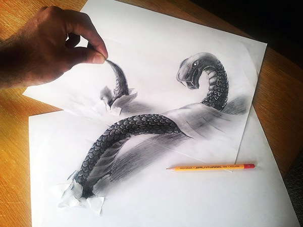 3d-pencil-sketch-on-paper