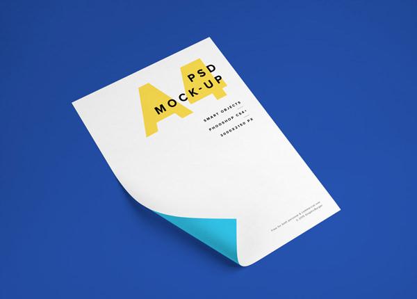 A4-Paper-PSD-MockUp-