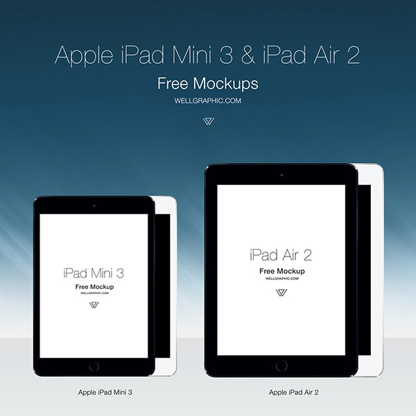 Apple-iPad-Mini-3-and-iPad-Air-2-mockup