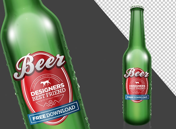 Beer_Photoshop_Mock_up_Free_Glass_bottle