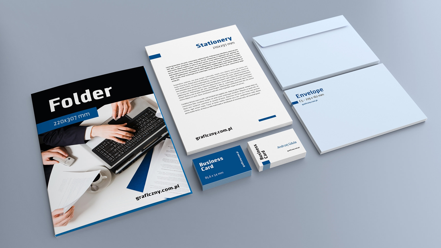 10+ free vector psd corporate identity mockups | freecreatives, Powerpoint templates