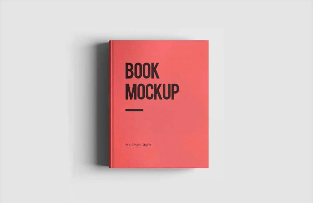 10+ Free PSD Hardcover Book Mockups