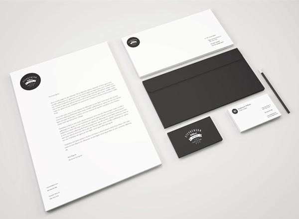Identity Branding Stationery Mockup