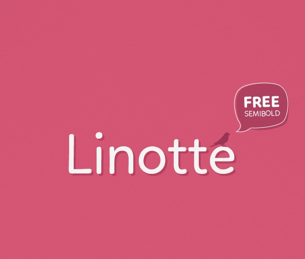 Linotte-Typeface