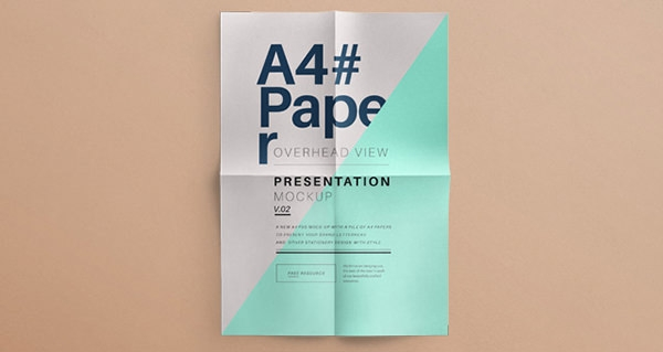 a4-letter-paper-brand-presentation-overhead-view-mockup
