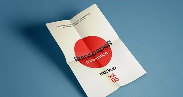 brand-folded-a4-paper-mockup