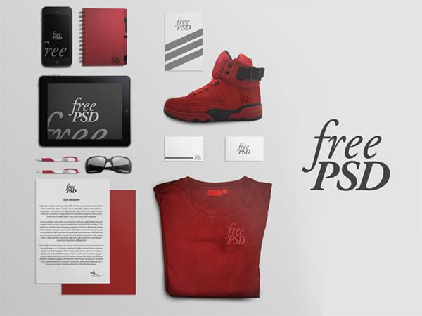 branding-stationery-free-psd