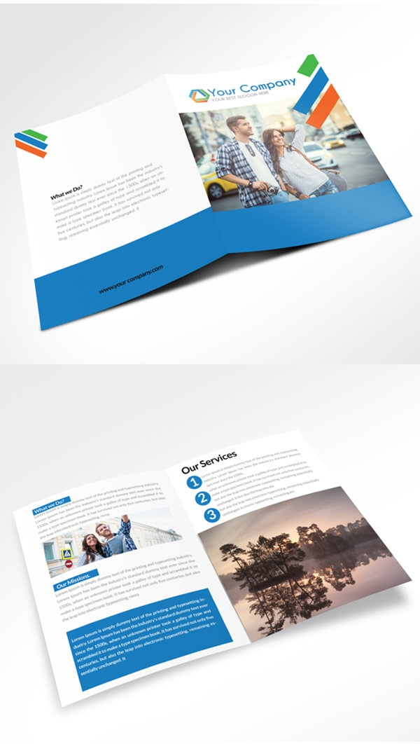 bi fold brochure template publisher - 21 free psd bi fold brochure mockups freecreatives