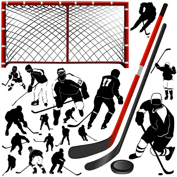 free-vector-hockey-players