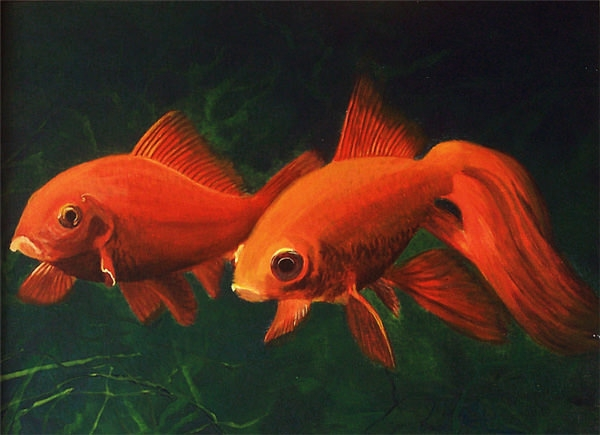 goldfish-acrylic_painting