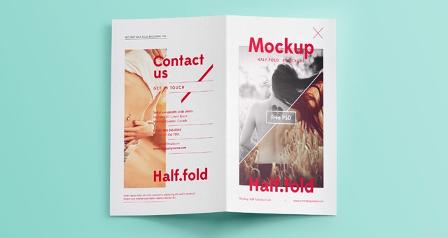 21 free psd bi fold brochure mockups freecreatives