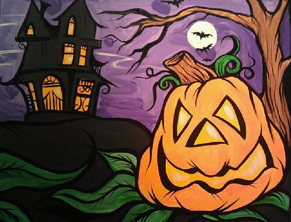 halloween-art-painting