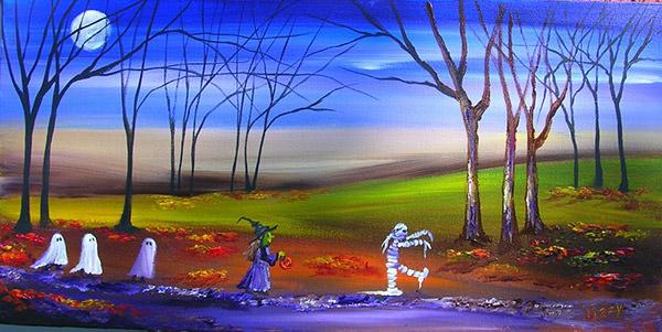 15 Halloween Painting Jpg Download