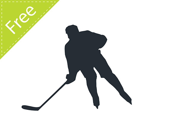 hockey-player-vector-silhouette