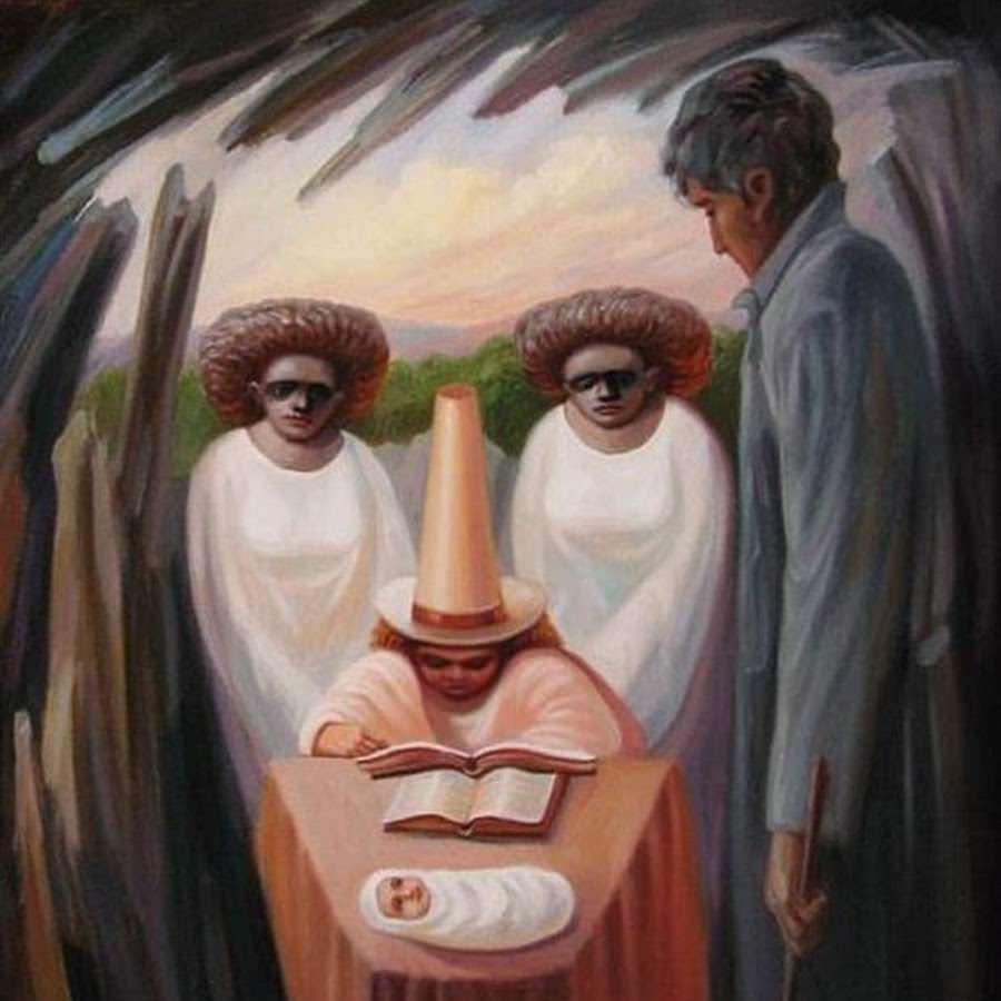 impressive illusion painting