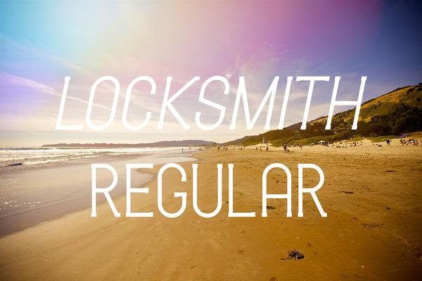 lock-smith-regular-font