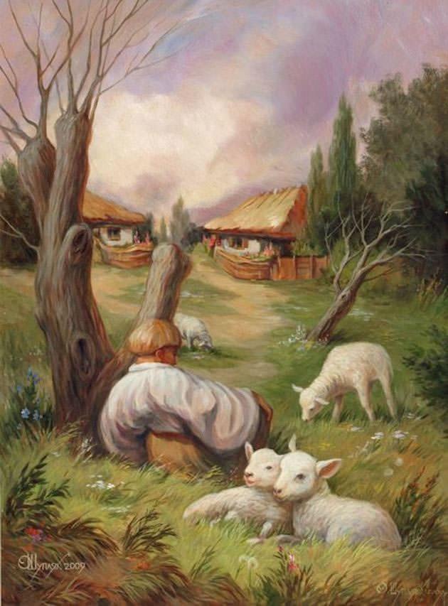painted illusion art