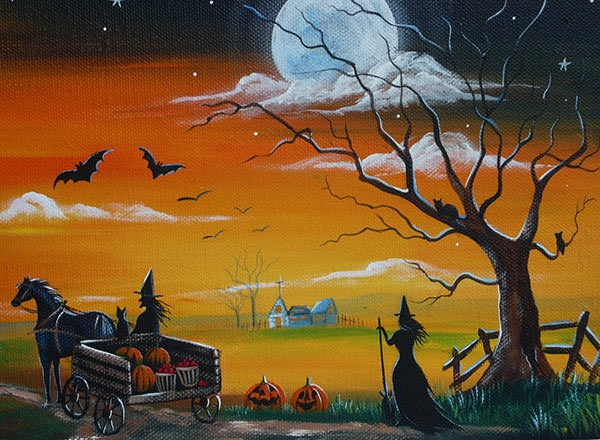 scary-halloween-painting