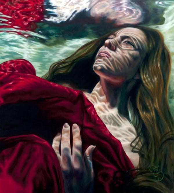 under art painting