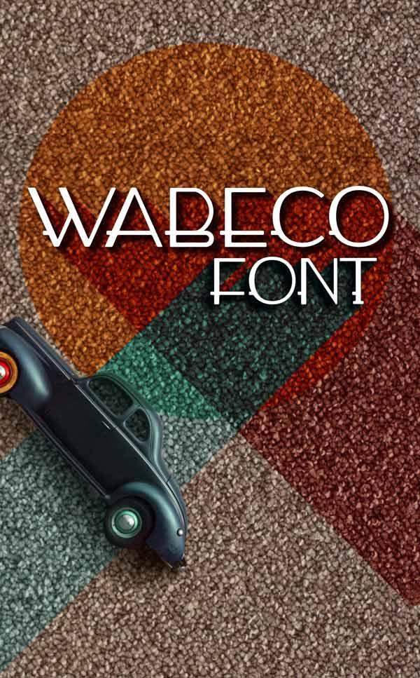 wabeco-free-font