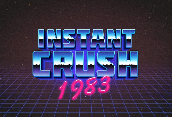 80s-Retro-Typography-Effect