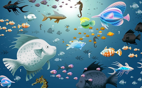 Animated-Sea-Fish-Wallpaper