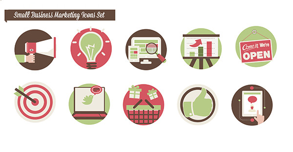 bwd free marketing icons set 11