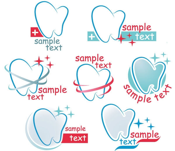 Creative-dental-icons-design-graphic-vector