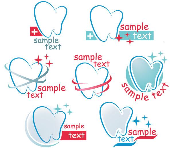 Creative-dental-icons-design-graphic-vector