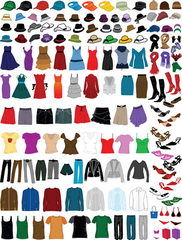 Different-Clothes-Vector