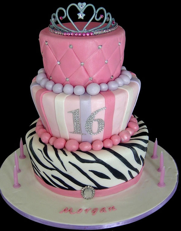 Sixteenth Birthday Cake Ideas