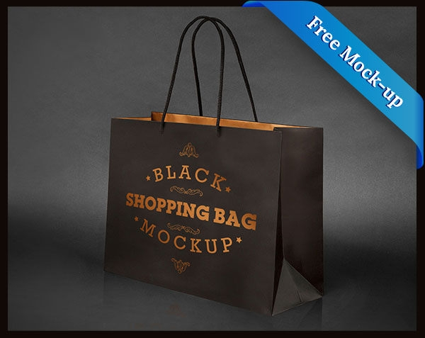 Free-Black-Paper-Bag-Mockup-PSD