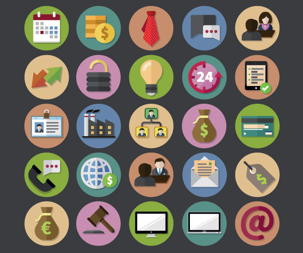Free-Business-Icons-Set-Vector