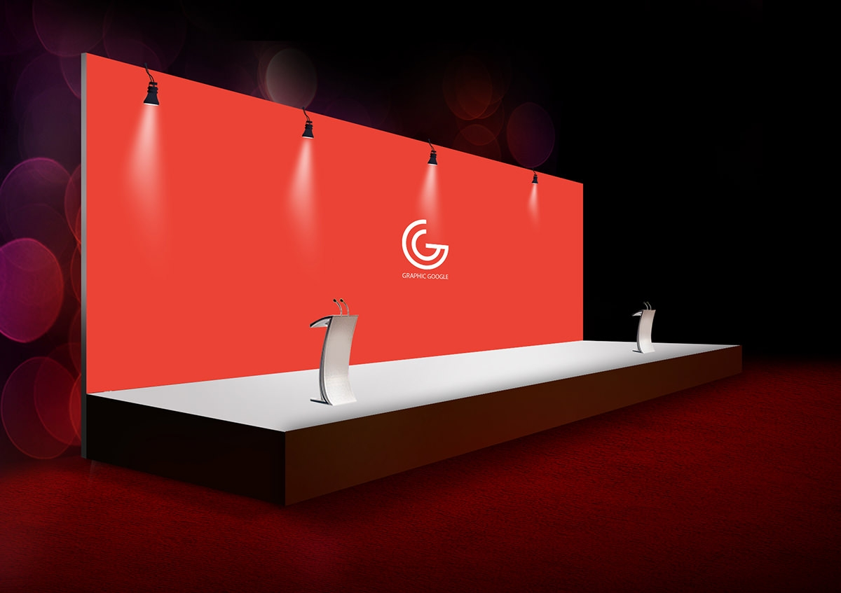 Download Free Mock Up Exhibition Stand : Banner mockups freecreatives