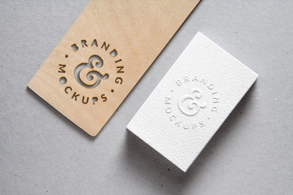 Free-Cutout-Wood-Embossed-B-Card-MockUp
